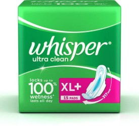 7966533a753b Whisper Sanitary Pads - Buy Whisper Sanitary Pads Online at Best ...
