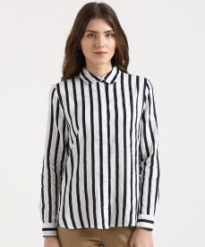 f9a1dfd33 Women's Shirts Online at Best Prices In India|Buy ladies' shirts from best  brands | Flipkart.com