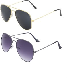 7a11098d98e4 Aviator Sunglasses - Buy Aviator Specs & Aviator Sunglasses Online at Best  Prices in India   Flipkart.com