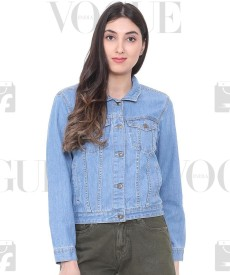 ddeba193b0d Denim Jackets - Buy Jean Jackets for Women   Men online at best prices -  Flipkart.com