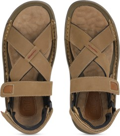 cdf27fd83cf2 Leather Sandals - Buy Leather Sandals online at Best Prices in India ...