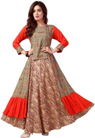 Long Kurtis - Buy Designer Long Kurtis online at Best Prices in