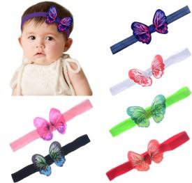 1# Ink blue/&white JOYKK Baby Toddler Kids Bow Knot Turban Headband Hair Band Headwrap Elastic Soft Cute Twist Head Wrap Accessories Headwear