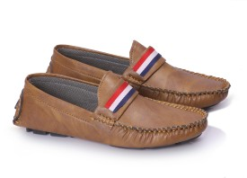 Baby Boys Route 66 Ruy Casual Shoes Brown    4J
