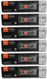 VLCC Kajal (Black) (Set of 6)