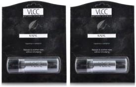 VLCC Natural Sciences Kajal (Pack of 2, Black..
