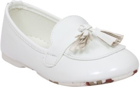 Doink Girls Slip on Casual Boots(White)