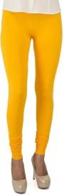 BuyNewTrend Women's Yellow Leggings