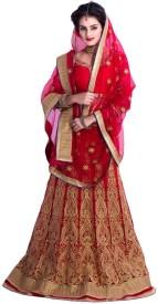 Rudra Fashion Striped Women's Ghagra Choli