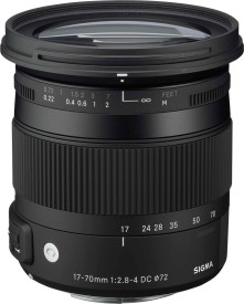 Sigma 17-70mm F/2.8-4 DC OS Lens (for Canon..