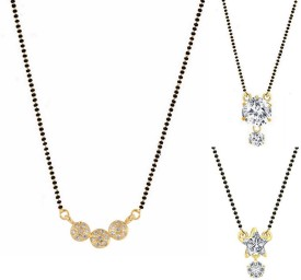 Archi Collection Style Diva Alloy Mangalsutra