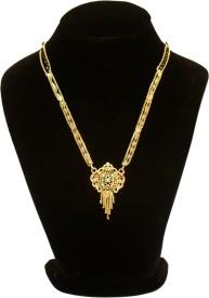 Arohi Jewells & Gems Designer Semi- Precious for Women Alloy Mangalsutra
