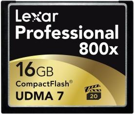 Lexar 16 GB Professional 800x Memory Card