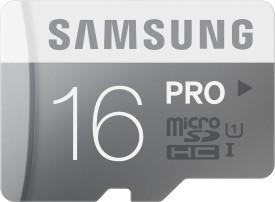 Samsung Pro 16GB MicroSDHC Class 10 (90MB/s) UHS-1 Memory Card