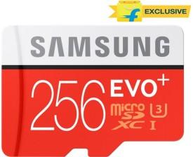Samsung Evo Plus 256GB MicroSDXC Class 10 (95MB/s) Memory Card