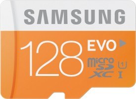 Samsung EVO 128GB MicroSDXC Class 10 (48MB/s) Memory Card