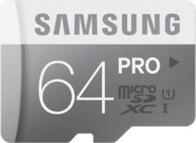 Samsung Pro 64GB MicroSDXC Class 10 (90MB/s) Memory Card