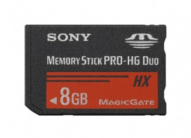 Sony PRO-HG Duo HX MS-HX8B 8GB Memory Card