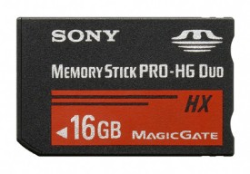 Sony PRO-HG Duo HX MS-HX16B 16GB Memory Card