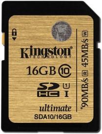 Kingston SDA10/16GB 16GB SDHC Class 10 UHS-1 90MB/s Memory Card