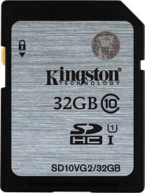 Kingston SD10VG2 32GB SDHC UHS-I 80MB/s Class10 Memory Card