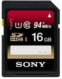Sony SF-16Ux 16GB 94MB/s Class 10 SDHC Memory Card