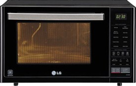 LG MJ3294BG 32L Convection Microwave Oven