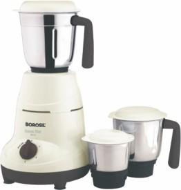 Borosil Home Star 500W Mixer Grinder (3 Jars)