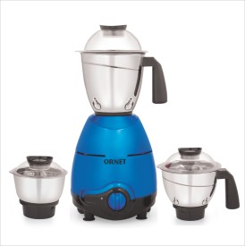 ORNET Grand 750W Mixer Grinder (3 Jars)