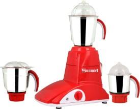 Sunmeet Rose 600W Mixer Grinder (3 Jars)