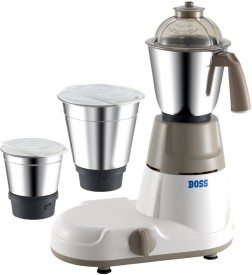 Boss Elite 500W Mixer Grinder (3 Jars)