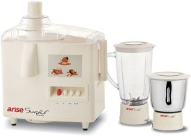 Arise Super Plus 500W Juicer Mixer Grinder
