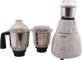 United A Star Big 550W 3 Jars Mixer Grinder