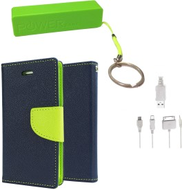 APE Dairy Case for Samsung Galaxy (8552)Quattro with 2600 Power Bank Combo Set
