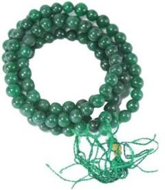 Shiv Shakti Green Agate Rosary Agate Stone Necklace Stone Chain