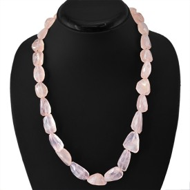 dgold Quartz Stone Necklace