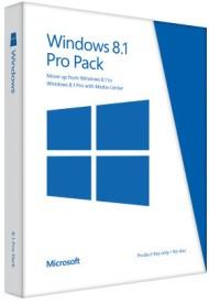 Microsoft Windows 8.1 Pro (32/64 bit)