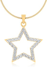 IskiUski 14K Diamond Gold Pendant