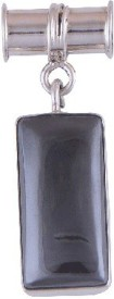 Silver Prince Love Forever Onyx Silver Pendant
