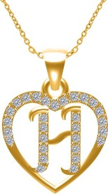 Twisha Yellow Gold Cubic Zirconia Alloy
