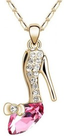 Cinderella Fashion Jewelry High-heeled Shoes Crystal Pendant