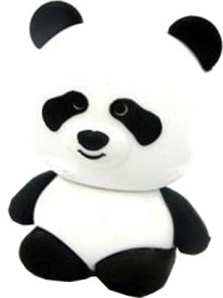 Microware Panda Shape 16GB Pen Drive (Black & White)