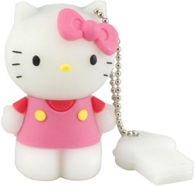 Microware Hello Kitty Shape Designer 8 GB Pen Drive