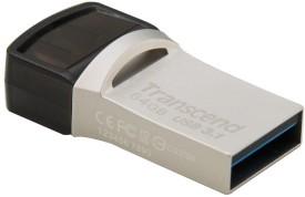 Transcend JetFlash 890s 64GB OTG Pen Drive