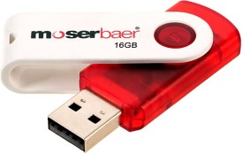 Moserbaer Swivel 16GB Pen Drive