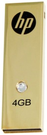 HP V-335 W 4GB Pen Drive (Golden)
