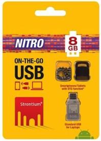 Strontium OTG Nitro 8GB Usb 2.0 Pen Drive