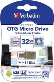 Verbatim Hybrid OTG 32 GB Pen Drive