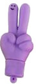 Microware Hands V Shape (Purple)