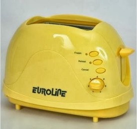 Euroline 2 Slice Smily Pop Up Toaster